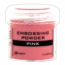 Embossing Powder Pink By Ranger