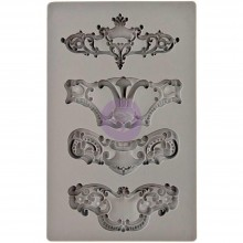 Royale Iron Orchid Designs Vintage Art Decor Mould