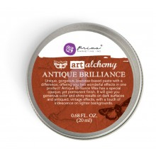 Finnabair Art Alchemy Antique Brilliance Wax .68 Fluid Ounce Red Amber