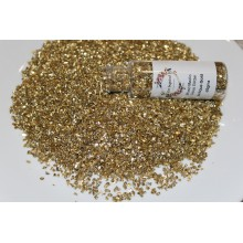 Antique Gold Glass Glitter Flakes By Get Inspired