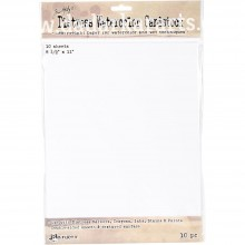 "Tim Holtz Distress Watercolor Cardstock 8.5""X11"" 10/Pkg"