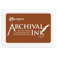Archival Ink Pad - Sepia