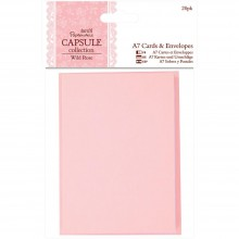 Cards & Envelopes Wild Rose A7 20/Pkg By Papermania