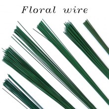 Flower Making Wire 18 Guage Dark Green Pack of 50 Wires