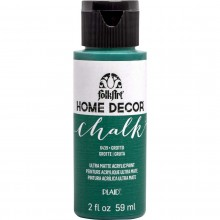 FolkArt Home Decor Chalk Acrylic Paint, 2oz Grotto