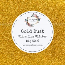 Gold Dust Ultra Fine Glitter Big Jar - 86gms