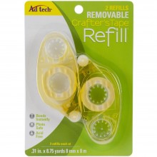 "Crafter's Tape Removable Glue Refill .31""X315"""