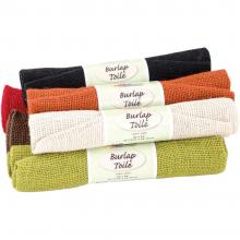 "Burlap Assorted 18""X24"" Rolled- 6 Rolls By Fabric Palette"