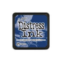 Chipped Sapphire Tim Holtz Distress Mini Ink Pad