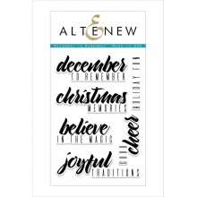 Altenew December to Remember Stamp Set - 6 Stamps
