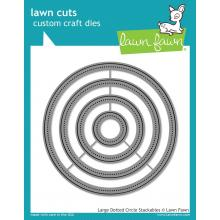 Stackables Dies Large Dot Circle - Lawn Cuts Custom Craft