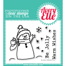 Clear Stamps Be Jolly