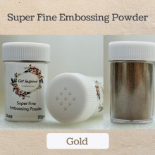 Gold Super Fine Embossing Powder By Get Inspired