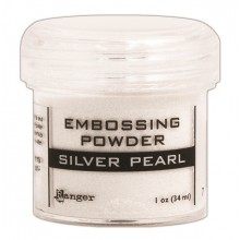 Silver Pearl Ranger Embossing Powder