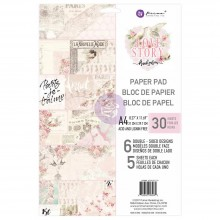 Love Story Prima Marketing Double-Sided Paper Pad A4 30/Pkg