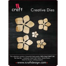 Icraft Flower Making Creative Dies Set Of Five M3