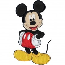 Sew-On Applique Mickey Mouse Disney Mickey Mouse