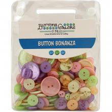 Buttons Galore Button Bonanza - CANDY STORE Jumbo Pack