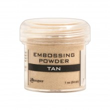 Embossing Powder Tan By Ranger