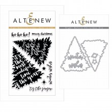 Altenew Night Before Christmas Stamp & Die Bundle