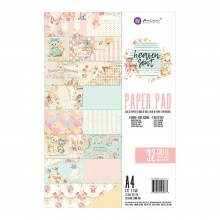 Double-Sided Paper Pad A4 32/Pkg By Heaven Sent 2 Prima Marketing