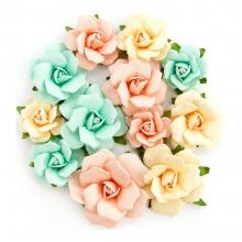 "Flowers Heaven Sent 2 Madeline, 1.25"" To 2"", 12/Pkg By Prima"