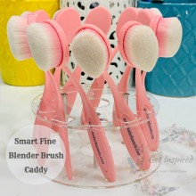 Smart Fine Blender Brush Holder Caddy holds upto 10 Brushes - Only Caddy