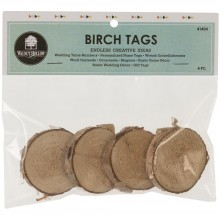 "Baltic Birch Tag 4/Pkg 1.5"" To 2""X.5"" Thick"