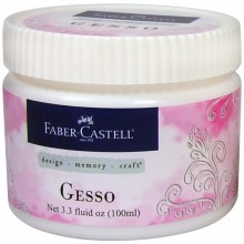 Gesso 100ml By Faber Castell