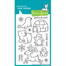 "Clear Stamps 4""X6"" Critters In The Snow - Lawn Fawn"