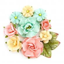 "Flowers Heaven Sent 2  Grace 1.25"" To 2.5"", 12/Pkg By Prima"