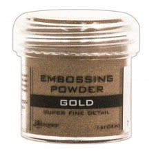 Gold Super Fine Detail Ranger Embossing Powder