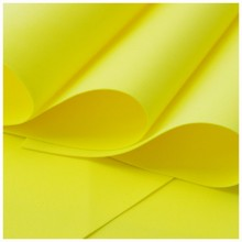 Lemon Yellow Flower Making Foam 0.8mm Pack Of 10 - 30cmsx40cms