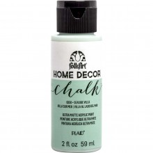 FolkArt Home Decor Chalk Acrylic Paint, 2oz Seaside Villa