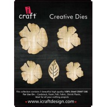 Icraft Flower Making Creative Dies Set Of Five M6