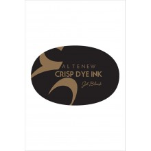 Full Size Inkpad Jet Black Oval Crisp Dye By Altenew