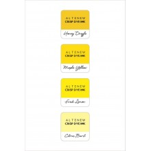 InkPads Pocketful of Sunshine Mini Cube Pack of 4 Set