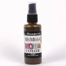 KAQ004 Aquacolor spray 60ml. - Leather By Stamperia
