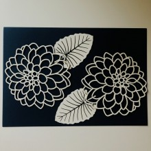 Enormous Dahlia Chippies By Get Inspired - 15cms x 22cms