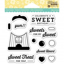"Sweet Treat Jillibean Soup Clear Stamps 4""X4"""
