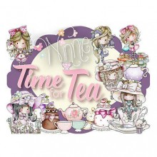 780 Pieces Little Darlings Polkadoodles Winnie Time for Tea Card Kit