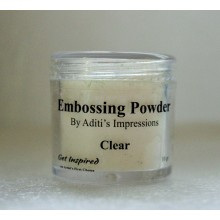Clear with Magic Shine Embossing Powder 20gms