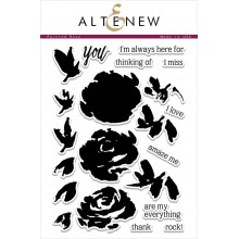 Altenew Painted Rose Stamp Set