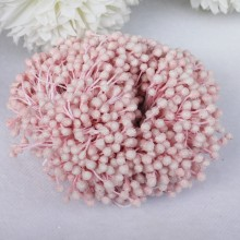 "Frosted Flower Stamens 2.25"" 100/Pkg - Blush"