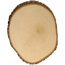 "Basswood Country Round Plaque 11"" To 12"" Wide"