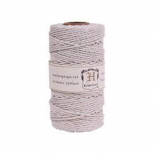 Hemp Cord Spool 48lb 205' - White