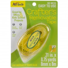 "Crafter's Tape Removable Glue Runner .31""X315"""