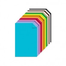 "Assorted 15 Colors Cardstock 9""x12"" 30/Pkg By Get Inspired"