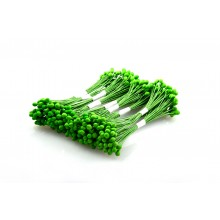 Green-Wire Pollen-2mm Head Pack 10 Bunches