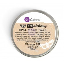 Opal Magic Wax Vintage Silk-0 .68 Fluid Ounce By Finnabair Art Alchemy